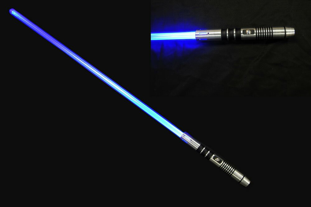 Blue Lightsaber - No Sound Version