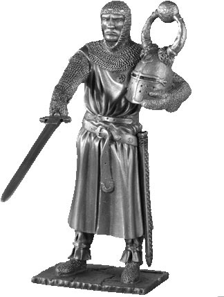 Figure Sagramore - Knights of the Round Table - Les Etains Du Graal