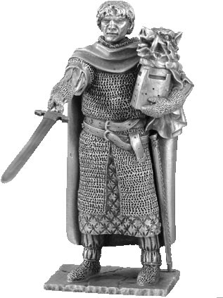 Figure Galahad - Knights of the Round Table - Les Etains Du Graal