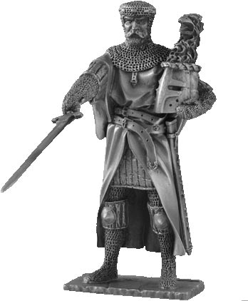 Figure Gawain - Knights of the Round Table - Les Etains Du Graal