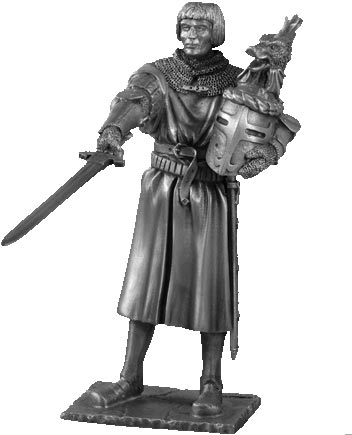 Figure Lancelot - Knights of the Round Table - Les Etains Du Graal