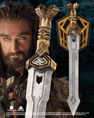 Hobbit - Thorin`s Dwarven Sword Replica Noble Collection