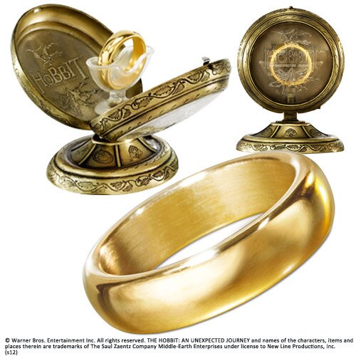 Hobbit One Ring - The Hobbit An Unexpected Journey