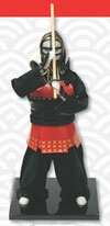 Kendo doll with katana (PL-607)
