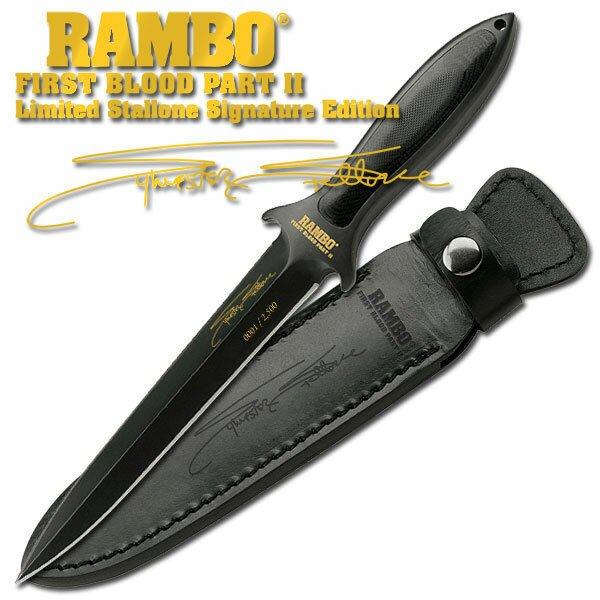 Knife Rambo II Boot Blade Signature Edition