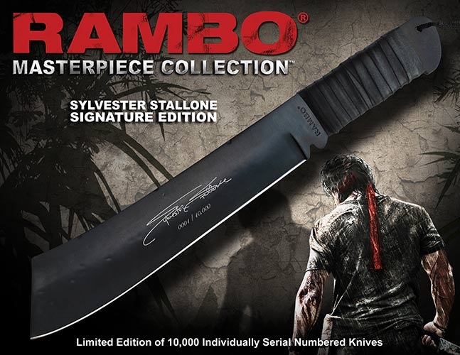 Knife Rambo IV John Rambo Signature Edition Hollywood Collectibles Group
