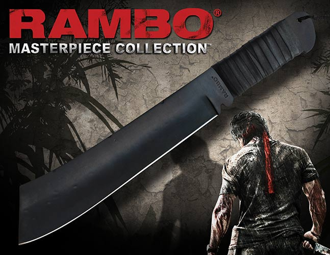 Knife Rambo IV Standard Edition Hollywood Collectibles Group