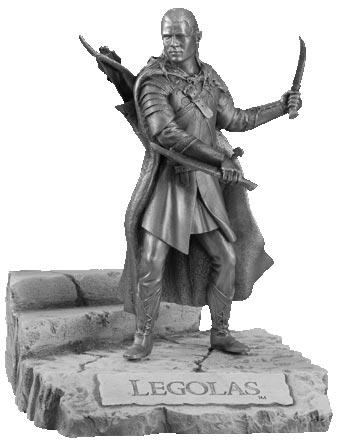 LOTR Legolas Figure - Les Etains Du Graal