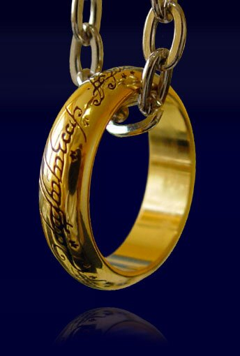 LOTR Ring The One Ring (gold plated)