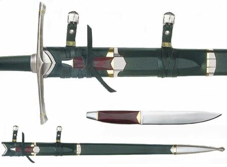 LOTR The Sword of Strider Scabbard