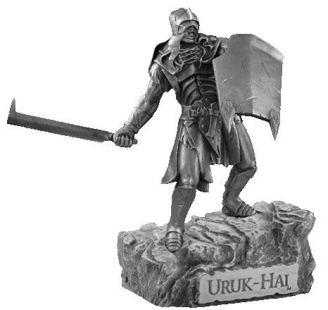 LOTR Uruk Hai Figure - Les Etains Du Graal