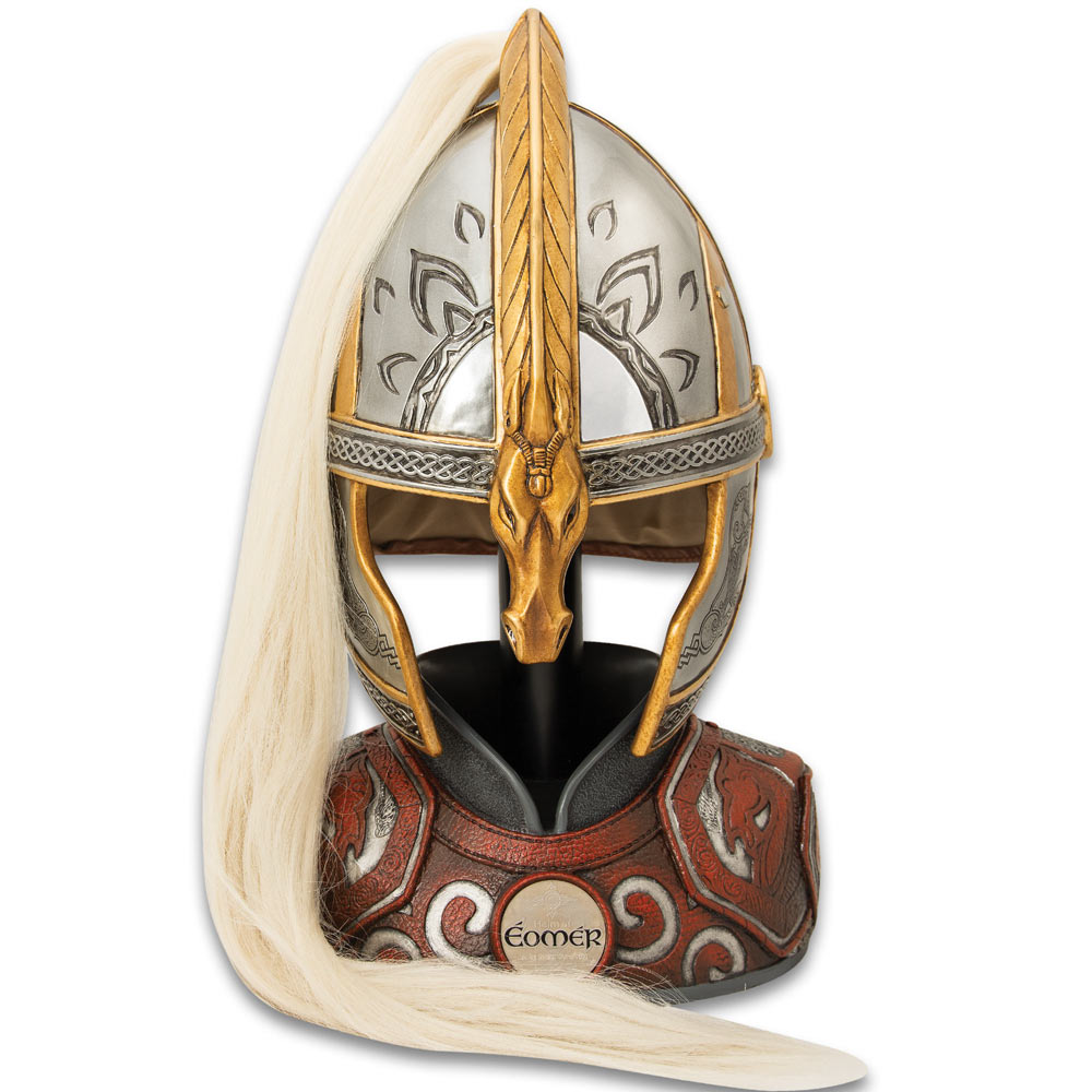 Lord of Rings Helm of Eomer With Display Stand