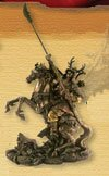 Miniature Samurai with Naginata (PL-420)
