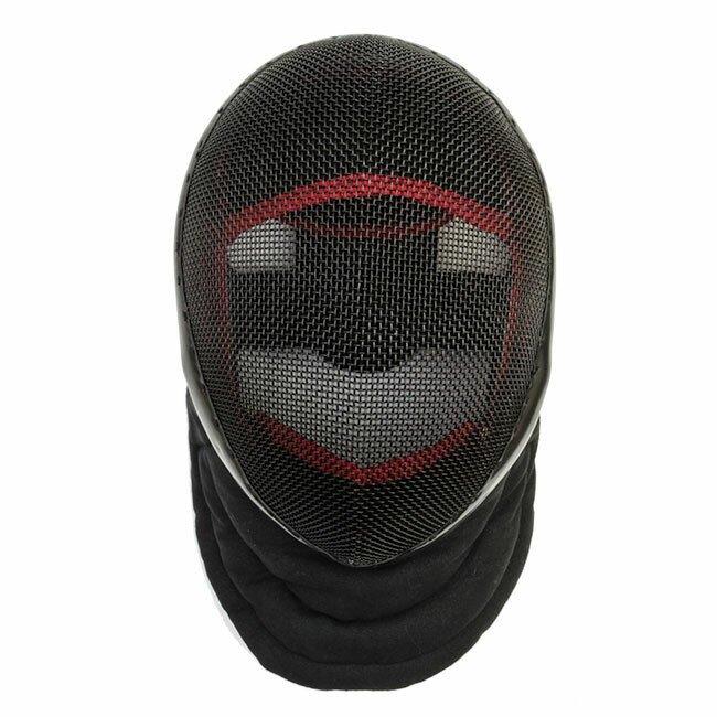 Red Dragon HEMA Tournament Fencing Mask - 1600N