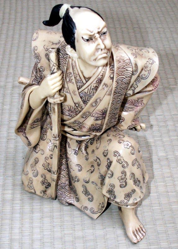 Samurai - Ivory imitation