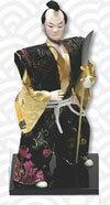 Samurai Warrior doll with naginata (PL-604)