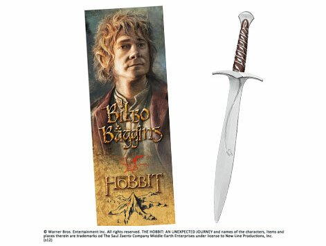 Sting Sword Pen and Paper Bookmark Noble Collection(NN1217) The