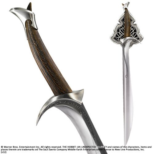 Sword Of Thorin Oakenshield Orcrist Noble Collection