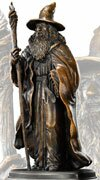 The Hobbit Bronze Statue Gandalf Noble Collection (NN1208)