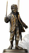 The Hobbit Bronze Statue Bilbo Baggins Noble Collection
