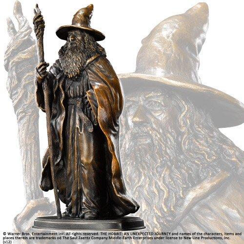 The Hobbit Bronze Statue Gandalf Noble Collection
