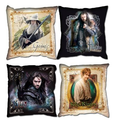 The Hobbit Cushion Set Characters