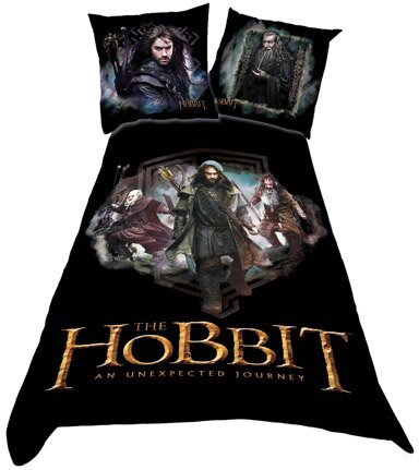 The Hobbit Duvet Set Characters