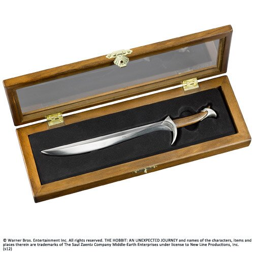 The Hobbit Letter Opener Sword of Thorin Oakenshield Orcrist Noble Collection