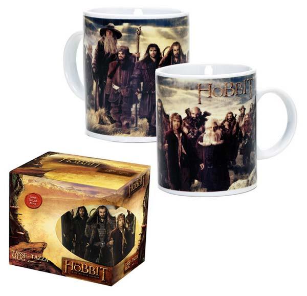 The Hobbit Mug Characters