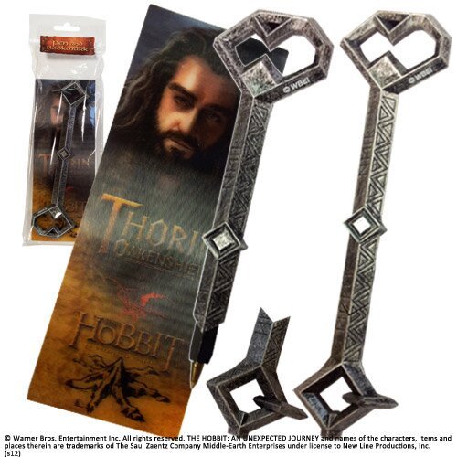 The Hobbit Pen & Bookmark Thorin Noble Collection