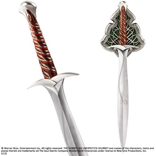 The Hobbit Replica The Sting Sword of Bilbo Baggins Noble Collection