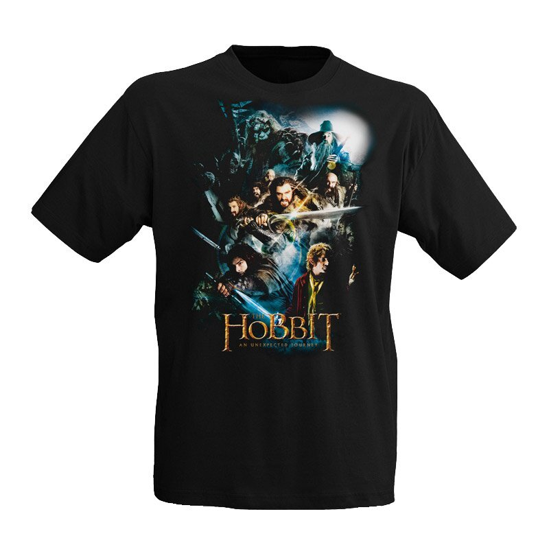 The Hobbit T-Shirt Collage