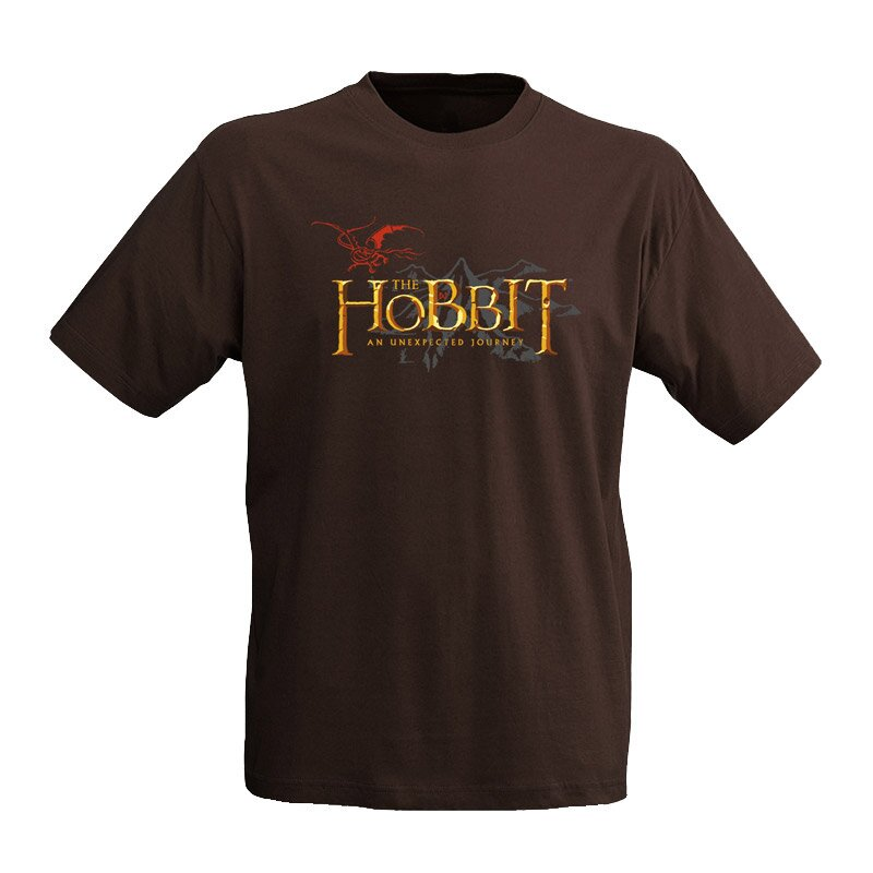The Hobbit T-Shirt Logo brown