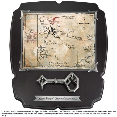 Thorin's Key and Map Full Size Key Noble Collection