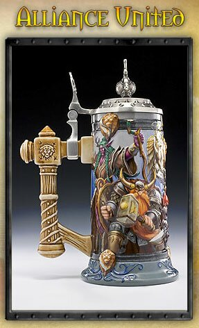 World Of Warcraft Epic Collection Steins Alliance United