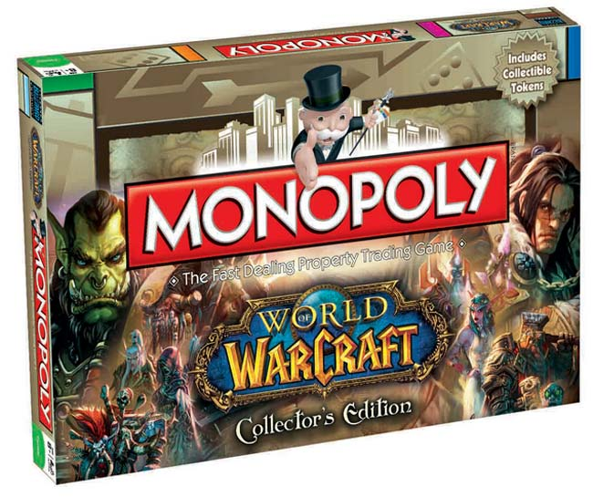 World of Warcraft Board Game Monopoly - English Version