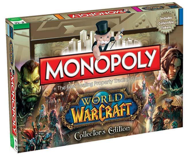 World of Warcraft Board Game Monopoly - English Version