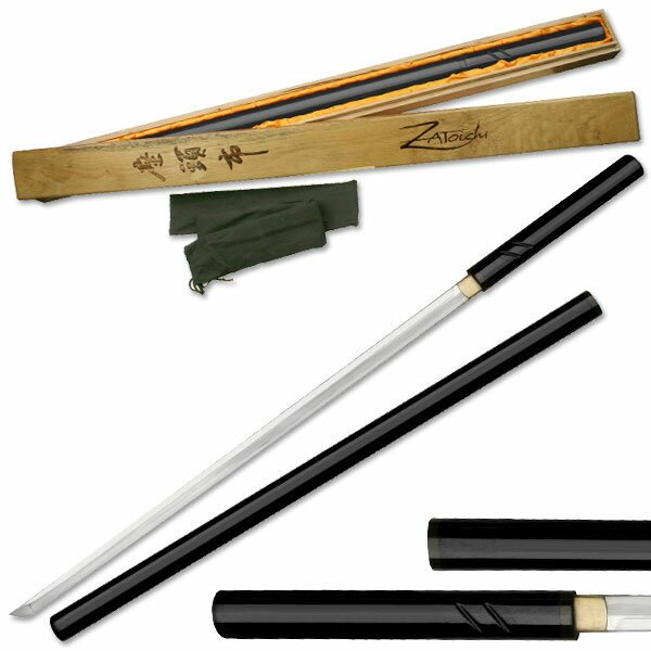 Zatoichi Hand Forged Sword Black